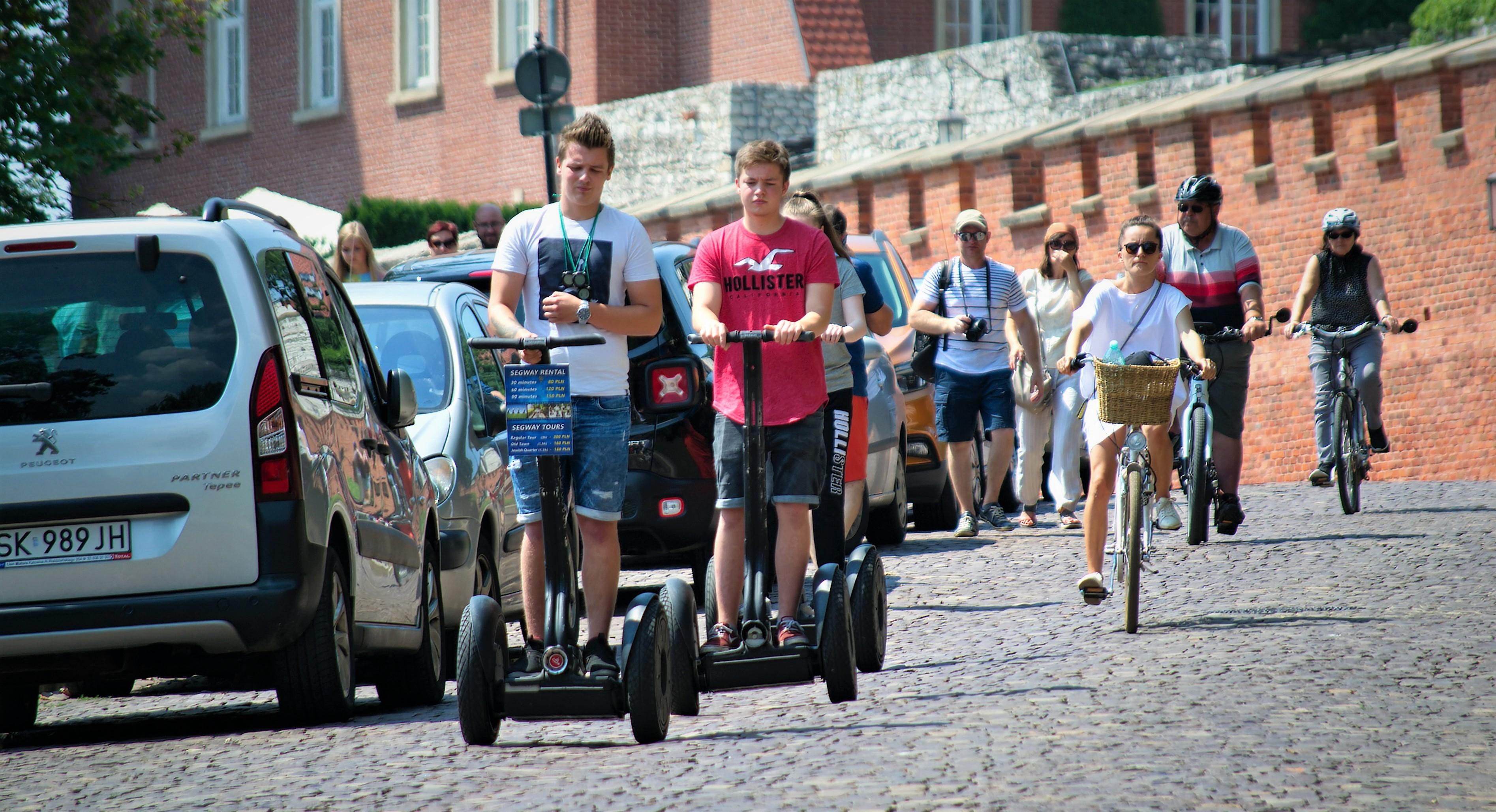 vélo et trottinette électrique